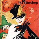 Fasching in München...alluring masked lady by edsimoneit