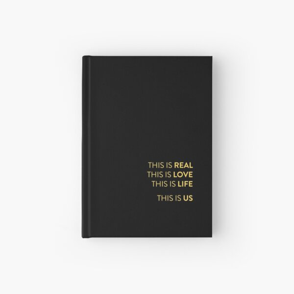 This Is Us Hardcover Journal