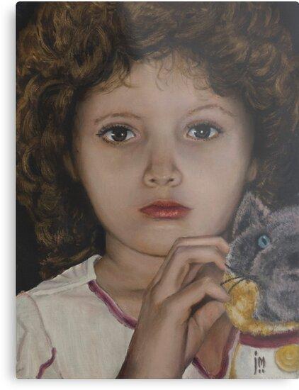 """Haven"" Oil on Canvas by John D Moulton"