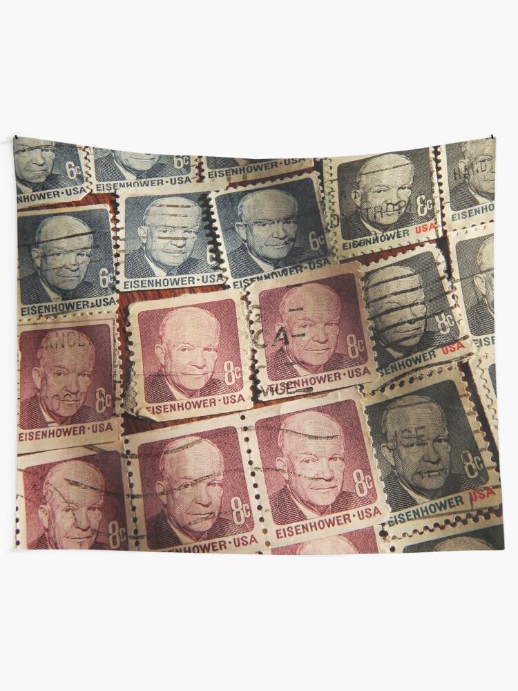 Alternate view of President Eisenhower Tapestry
