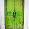 Green Old Doors