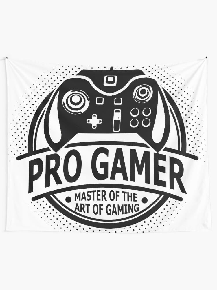 Tenture Murale Pro Gamer Master Of The Art Of Gaming Par Game
