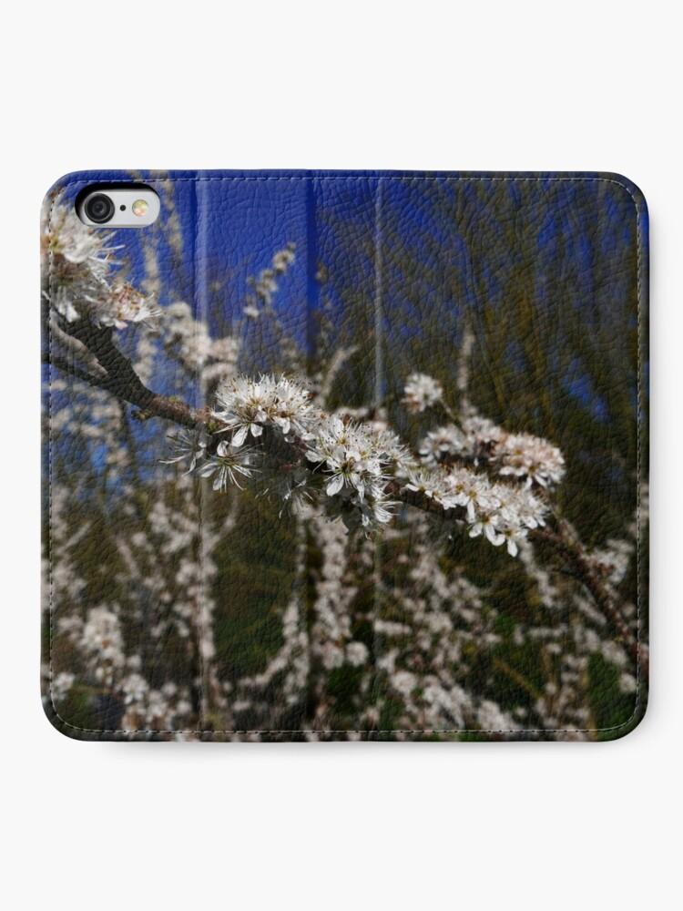 Alternate view of Blackthorn (Prunus spinosa) iPhone Wallet