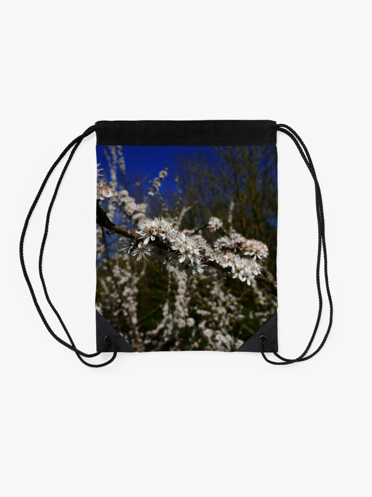 Alternate view of Blackthorn (Prunus spinosa) Drawstring Bag