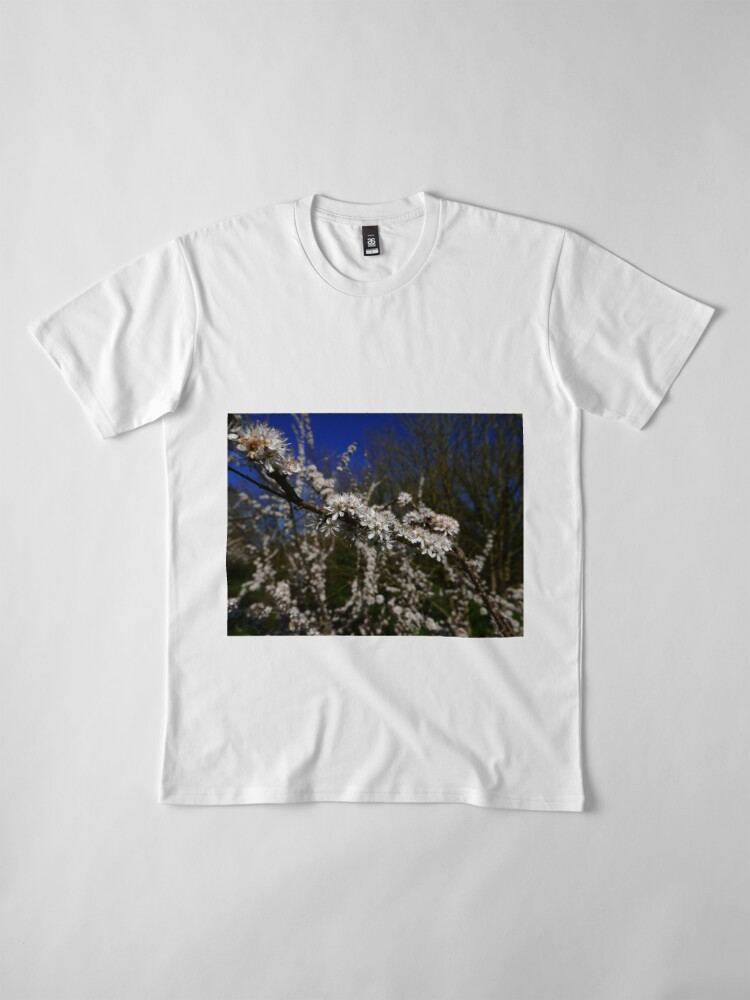 Alternate view of Blackthorn (Prunus spinosa) Premium T-Shirt