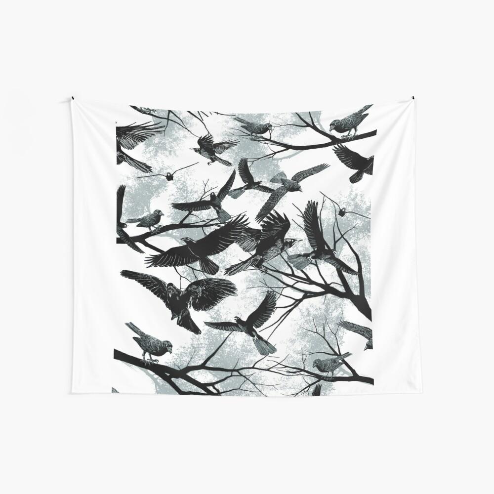 Blackbirds Wall Tapestry