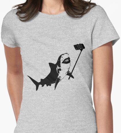 Shark Selfie Stick T-Shirt