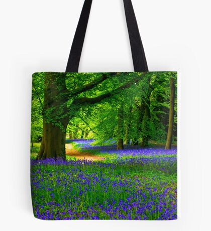 Bluebell Wood - Thorpe Perrow #3 Tote Bag