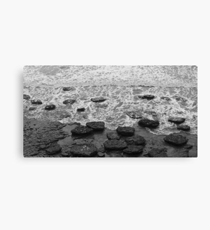 Giant Pebbles Canvas Print