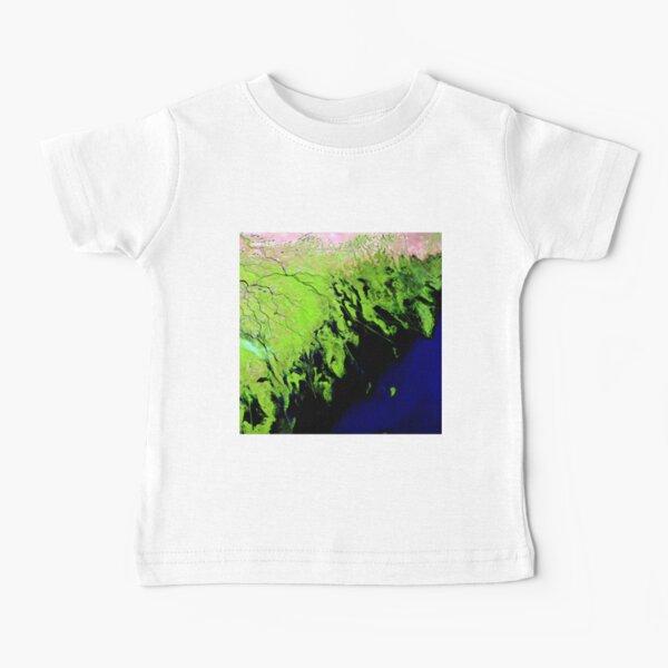 #Volga #River Delta - Earth as #Art Baby T-Shirt