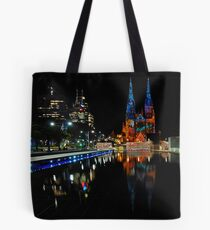 Vivid Sydney 2010 | St. Mary's Cathedral Tote Bag