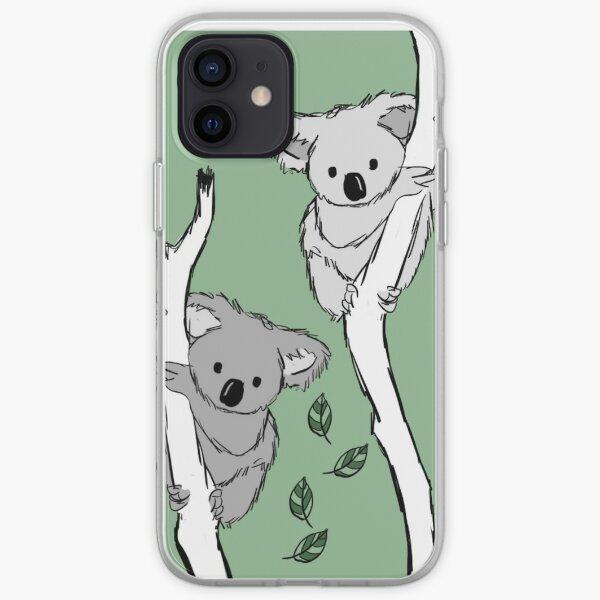 koala? i've never seen her-bi-vore!  iPhone Soft Case