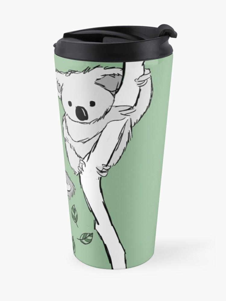 Alternative Ansicht von Koala? Ich habe sie noch nie gesehen - Bi-Vore! Thermobecher