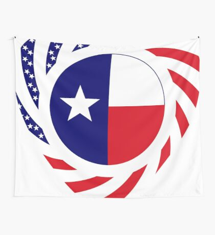 Texan American Murican Patriot Flag Series 2.0 Wall Tapestry