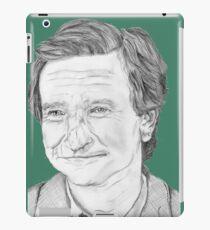 Robin Williams Portrait  iPad Case/Skin