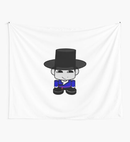 Appa Korean Geo'bot 1.0 Wall Tapestry