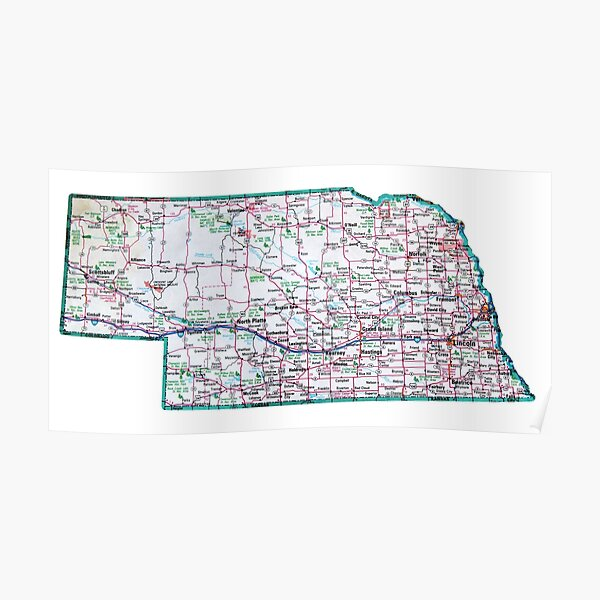 Nebraska Roadmap Poster