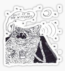 the wytches  Sticker