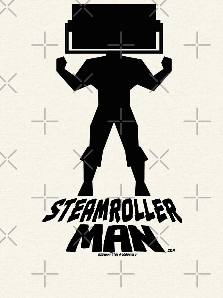 Steamroller Man Logo by SteamrollerMan