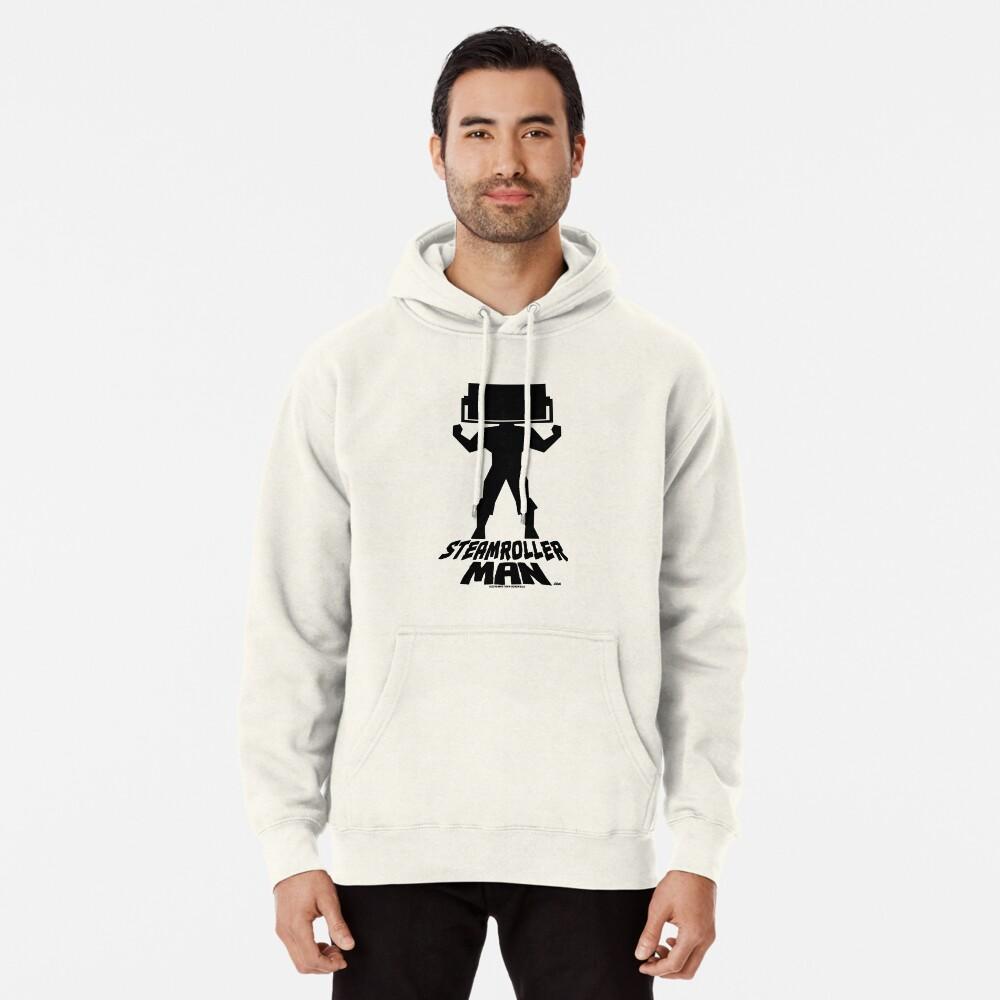 Steamroller Man Logo Pullover Hoodie