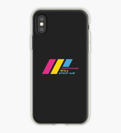 Pride Stripe: Nothing Will Stop Me iPhone Case