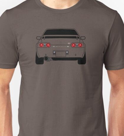 Nissan GTR R32 Black Unisex T-Shirt