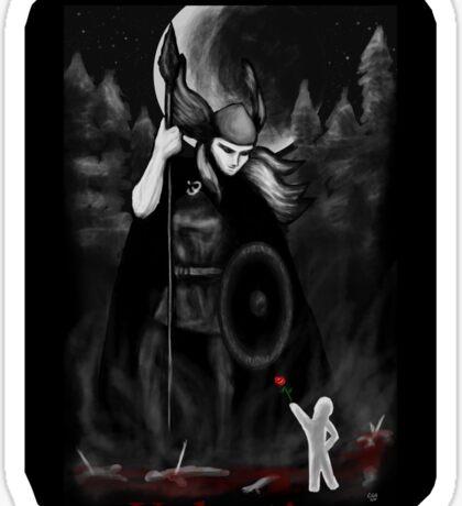 Valkyrie Valentine Sticker