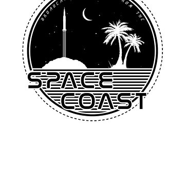 Chris and Jen Show - Space Coast - Black by chrisandjenshow