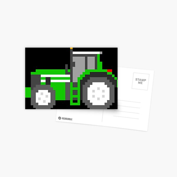 Tractor - The Kids' Picture Show Postcard