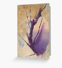 The Flame in Acrylic Greeting Card