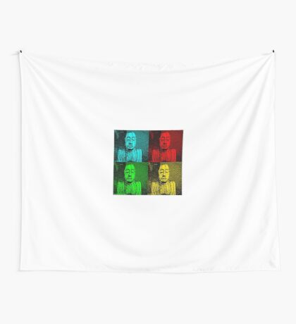 Karma Squared = 4 x the luck Wall Tapestry