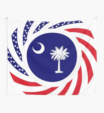South Carolina Murican Patriot Flag Series Wall Tapestry