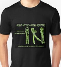 Night of the Undead Hipsters T-Shirt