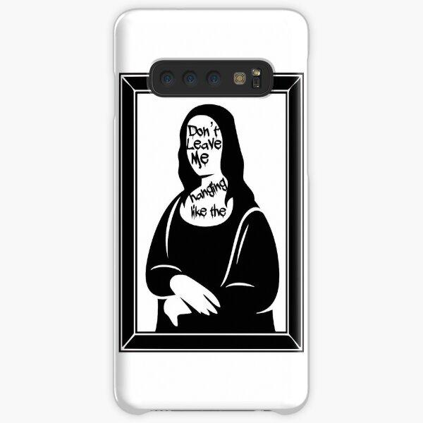 Sabrina Carpenter Mona Lisa Graphic Art Lyrics Samsung Galaxy Snap Case