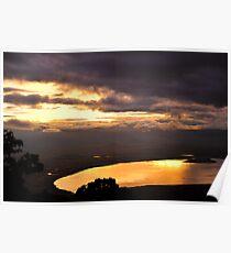 Sunrise over Ngorongoro Crater Poster