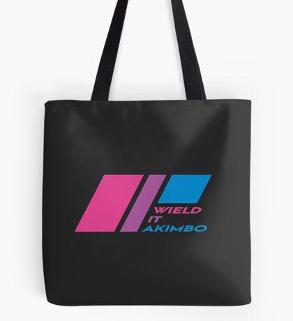 Pride Stripe: Wield it Akimbo Tote Bag