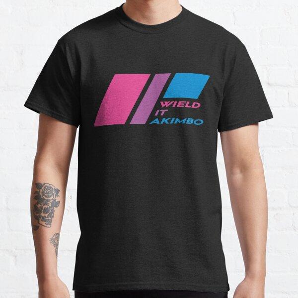 Pride Stripe: Wield it Akimbo Classic T-Shirt