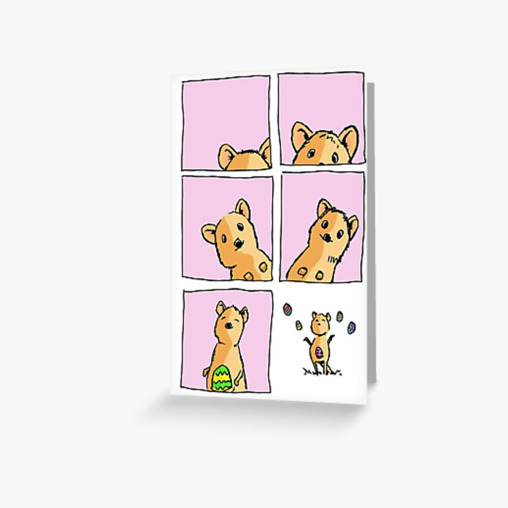 Cute Easter Quokka Greeting Card