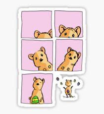 Cute Easter Quokka Sticker