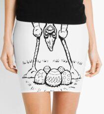 Easter Cassowary Mini Skirt