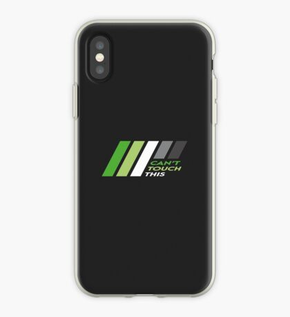 Pride Stripe: Can't Touch This iPhone Case