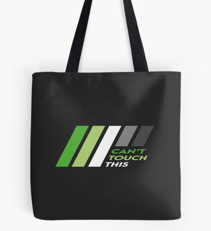 Pride Stripe: Can't Touch This Tote Bag
