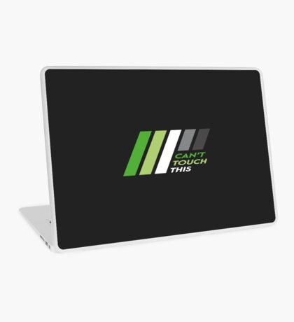 Pride Stripe: Can't Touch This Laptop Skin