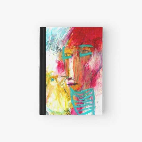 painted ladies Hardcover Journal