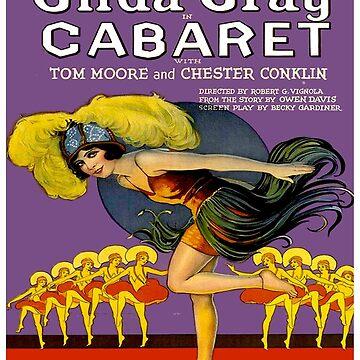 CABARET: Vintage Werbedruck von posterbobs
