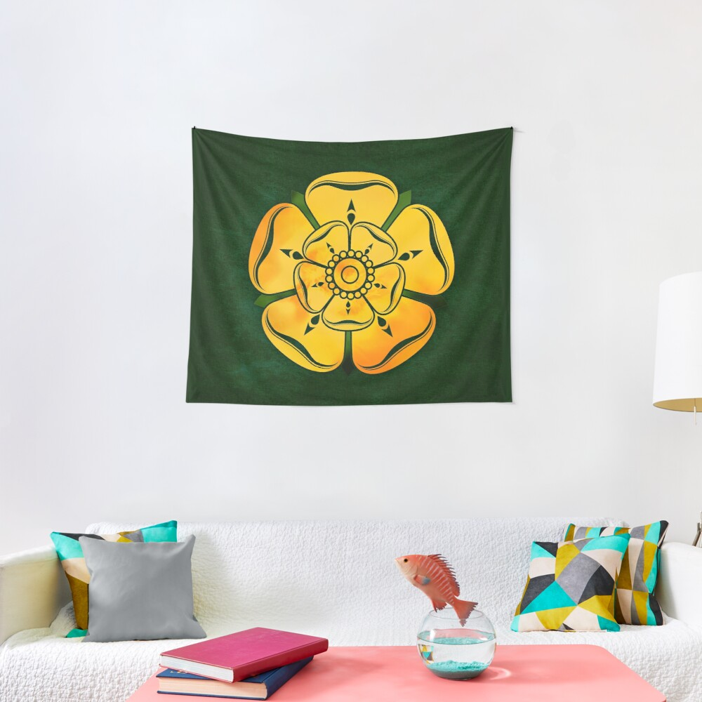 Gold Rose Tapestry