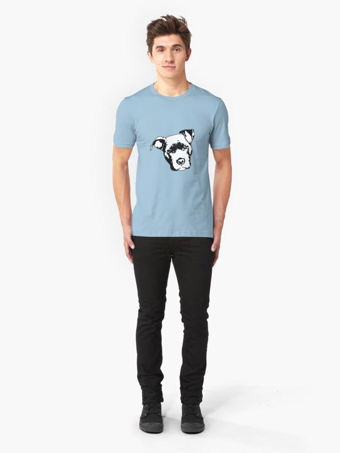 Alternate view of Staffordshire Bull Terrier Slim Fit T-Shirt