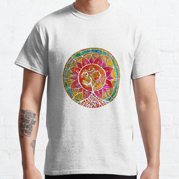Tree of Life Mandala Classic T-Shirt