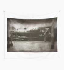 Loughborough Grand Central Station: 'The Elizabethan' 2 Wall Tapestry