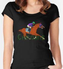 California Chrome Chromie  Women's Fitted Scoop T-Shirt